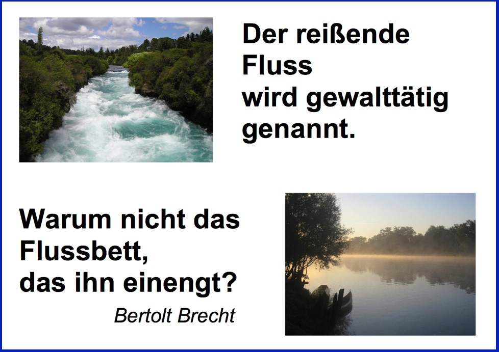 Brecht_Der reißende Fluss*